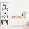 chispum_wallsticker_rocket door