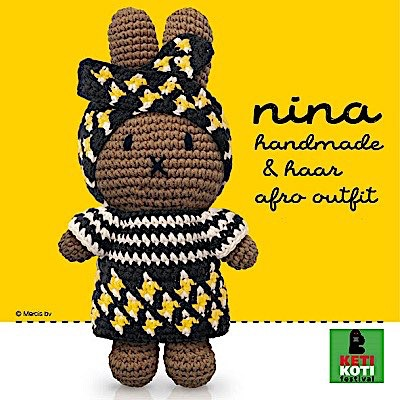 Miffy Afro-Outfit - JD1468