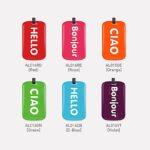 Luggage Tag Greetings - AL014