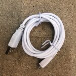 Cable blanc