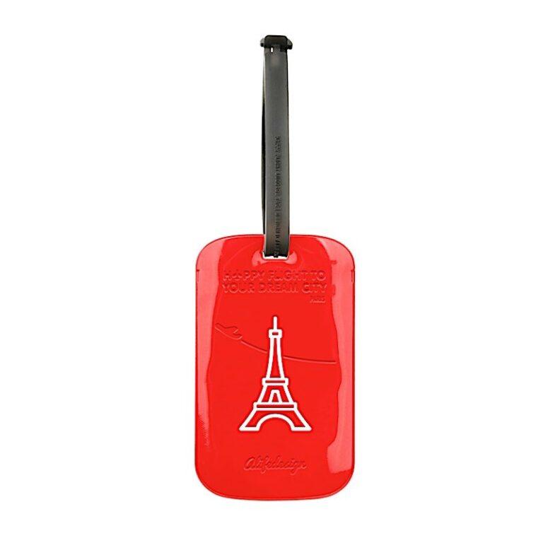 DC Luggage Tag Paris - ALDC002
